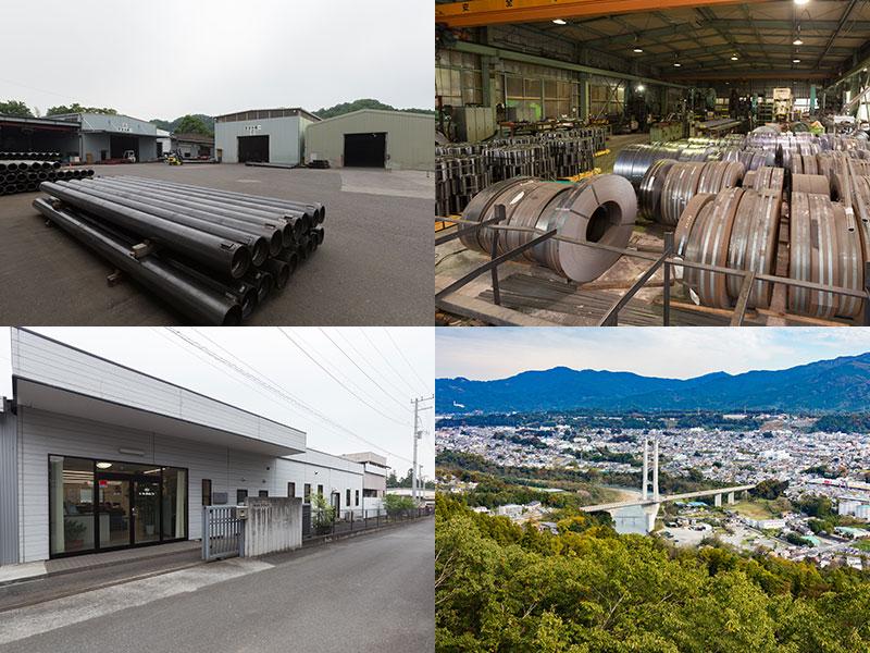 キタムラの本社と工場